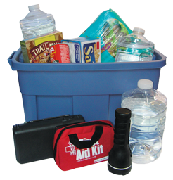 Example Disaster Supply Kit by Above & Beyond Insurance (757) 965-4459