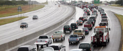 Image of Interstate Traffic in an Evacuation post by Above & Beyond Insurance (757) 965-4459